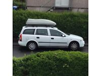 Vauxhall Astra Estate (not renewing MOT) Roofbox not included.