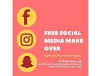 FREE SOCIAL MEDIA MAKEOVER WORTH £197