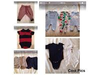 Bulk buy baby boys clothes 3-6 months