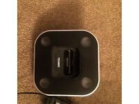 Technika iPhone 4 docking station with speakers
