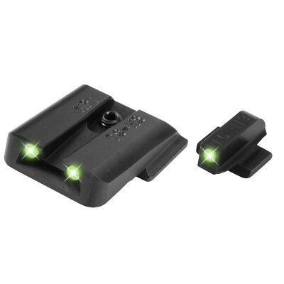 TruGlo Tritium Night Sight Set S&W M&P/Shield/Shield 2.0/SD9/SD40-TG231MP Tritium Night Sight