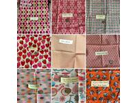 Fabric pieces £3 each