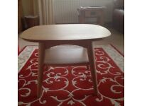 Oslo lamp /oak coffee tables matching pair 6 months old