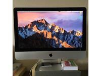 """APPLE iMac 21.5"""" 4K, i7 5775r 3.3GHz, 16GB ram, 1TB HDD, 3 years warranty."""