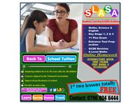 Back to School Maths Tuition in Nottingham - Maths, Science and English GCSE