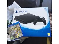 Brand New Slim PlayStation 4 and Fifa 17