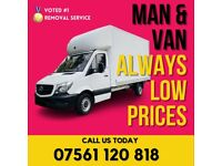 REMOVAL MAN AND VAN *Free Quote* 07 561 120 818