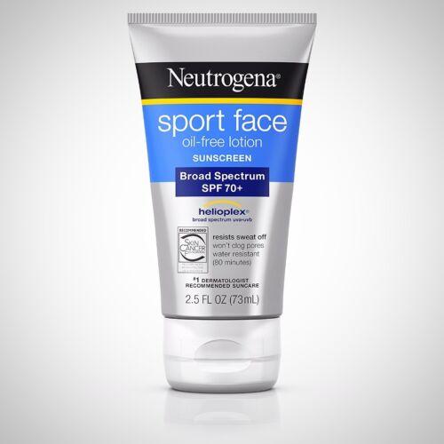 Neutrogena Neutrogena Sport Face Sunblock Lotion, 2.5 oz
