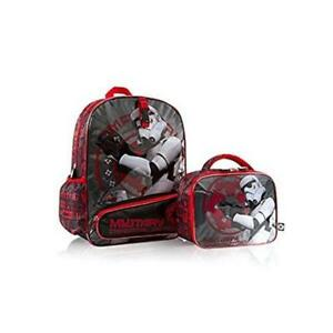 Heys Star Wars 16 inch Backpack Bag with Detachable Lunch Kit Box Imperial Patrol