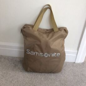 Samsonite pop up travel cot