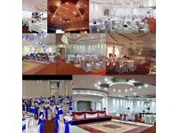 Wedding venue, hall hire, party venue, Mehndi hall