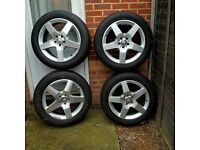 Mercedes-Benz AMG set of tyres ML 2012 On 19 Inch Alloy Wheels And Tyres