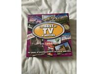 Brand new Best of tv and movies logo board game