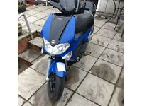 Gilera Runner 125 56 Plate For Sale Non-Runner Spares and repairs £500 ono.