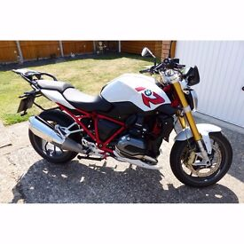 BMW R1200R Sport 2017 66 plate with Comfort and Premium packages - Top Spec Bike