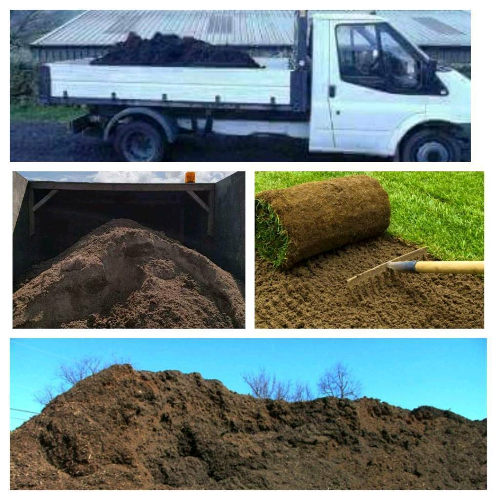 Screened topsoil available for delivery within 15 miles £20 a ton