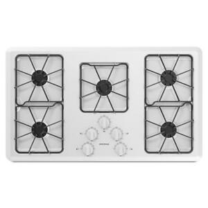 Amana® AGC6356KFW 36-Inch Gas Cooktop With Front Controls (BD-1630)
