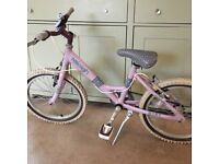 Girls Raleigh bike 18 inch