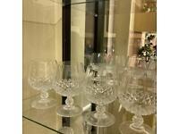 Crystal Glass Set - Brand New