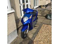Honda 125 ses Dylan - New MOT - 2006 - Bargain £350 to clear