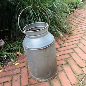 Reproduction Milk Urn. Ideal for planting up. Country style. Flower pot.