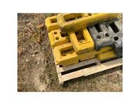Heras fencing blocks