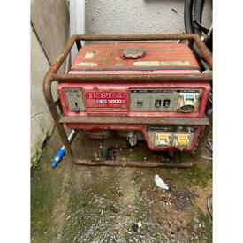 Honda eb 3000x generator repair or spare