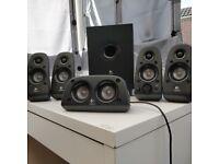 Logitech surround sound 6 speakers