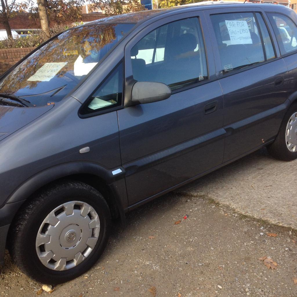 Vauxhall Zafira 1.8 Petrol £800 O.N.O