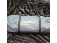 Brand new never used Summit Pinnacle five 5 Person Man tent. With carry bag.