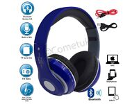 Bluetooth Headphones 4.2 sdcard/Mic/radio/Aux