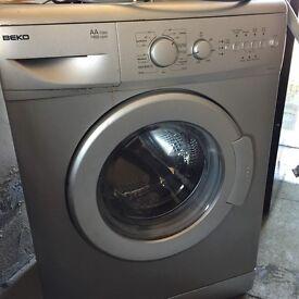 Large Black frost free Fridge freezer , Beko washing machine 1400W