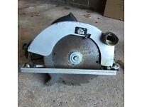 ELU circular saw. Heavy duty. Spares or repair