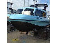 20 feet fishing boat