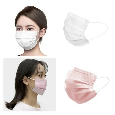 40pcs 2 Colors Set Disposable Face Mask Mouth Nose Protective Industry Filter