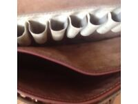 Real Leather Cartridge Bag