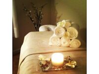 Pamper yourself with a soft relaxing massage