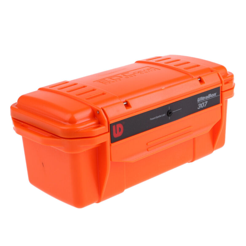 Shockproof Waterproof Storage Case Camping Boating Container Dry Box Orange
