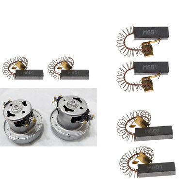 8x Dog Puppy Pet Grooming Hair Blower - Motors Carbon Brushes 6.5x11.5x32mm