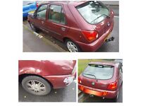 FORD FIESTA T REG CHEAP CAR MOT LOW MILAGE £200 AUTOMATIC