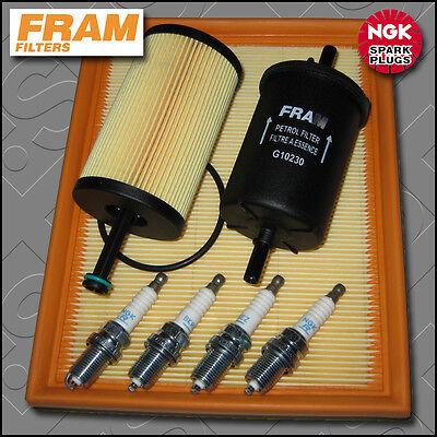 SERVICE KIT CITROEN SAXO 1.6 8V VTR FRAM OIL AIR FUEL FILTERS PLUGS (2000-2004)
