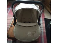 Sliver cross car seat! Collect only!