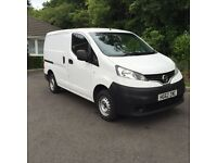 Nissan NV 200 12 Plate in superb condition