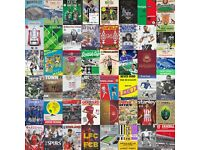 Football programmes WANTED