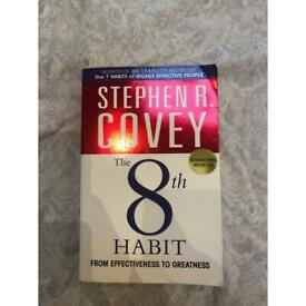 Stephen R Covey - The 8th Habit book