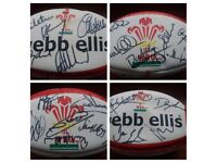 Wales grand slam 2012 signed official webb ellis rugby ball