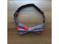 Paisley Bowtie (pre-tied with adjustable length)