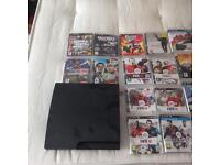 PS3 250gb with games