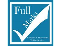 Full Marks Tuition - Lancaster, £15 an hour with our experienced Tutor