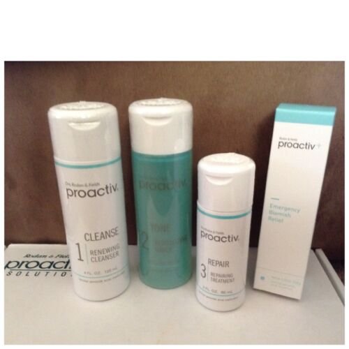 Proactiv 4pc 60 day Set exp 2018 Free Shipping AUTHENTIC  Proactive